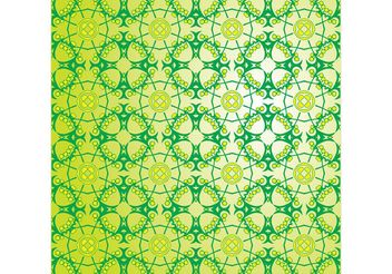 Free Decorative Vector Pattern - vector gratuit #159489
