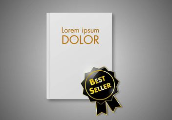 Free Best Seller Book Vector - vector #159529 gratis