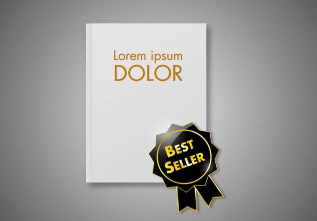 Free Best Seller Book Vector - Free vector #159529