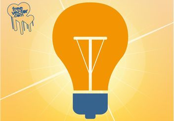 Lamp Icon - vector #159819 gratis