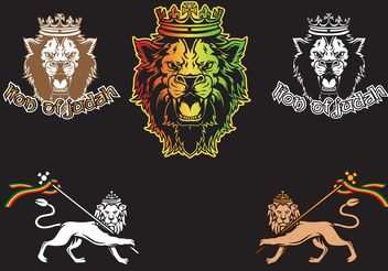 Lion of Judah - vector gratuit #160059