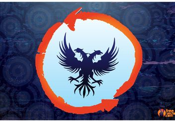 Double Headed Eagle - Free vector #160229