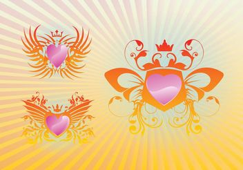 Cool Shields - vector #160269 gratis