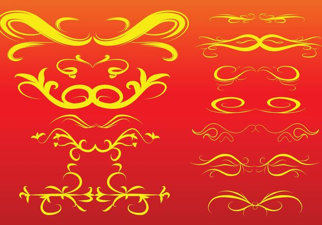 Free Scroll Vectors - vector gratuit #160319