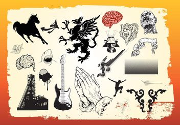 Free Vector Art Graphics Pack - Free vector #160409