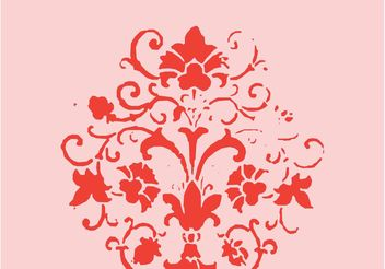 Royal Flower - vector #160509 gratis