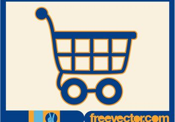 Shopping Cart Icon - Free vector #160799