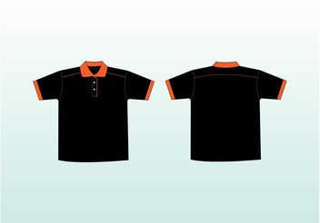 Polo Shirts Vectors - Free vector #160959