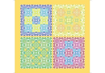 Ornamental Pattern Vector - vector gratuit #161129