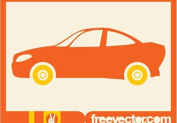 Sports Car Icon - Free vector #161299
