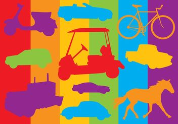Transport Vehicles Graphics - Free vector #161349