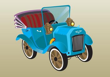 Old-timer Car - Free vector #161379