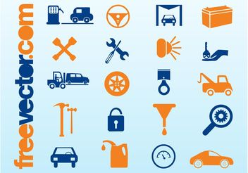 Car Icons - vector #161739 gratis