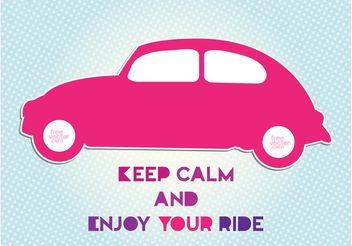 Car Ride - Free vector #162039