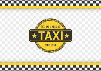Free Taxi Checkerboard Vector Background - бесплатный vector #162079