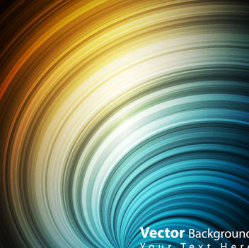 Rainbow Vortex Lines Background - бесплатный vector #163609