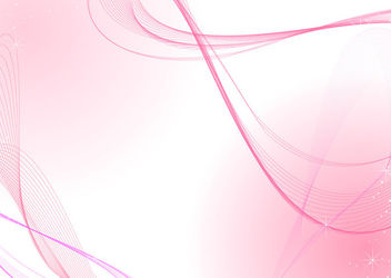Pink Abstract Spiral & Waving Lines Background - Free vector #165909