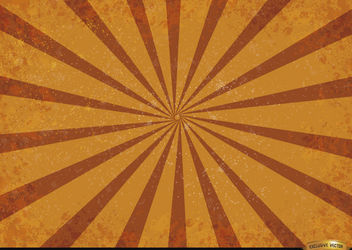 Orange red radial stripes grunge background - Free vector #166179