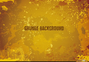 Yellow Grunge background - vector gratuit #166199