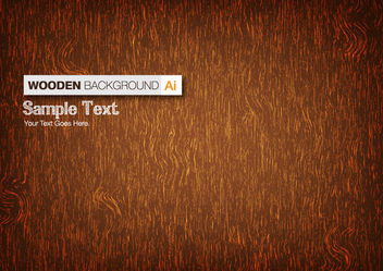 Grungy Abstract Wooden Texture Background - Free vector #166259