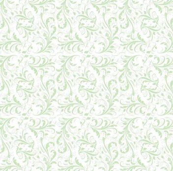 Simplistic Flat Seamless Floral Pattern - Free vector #166639