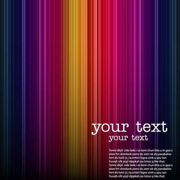 Colorful Dark Lines Background - Free vector #166679