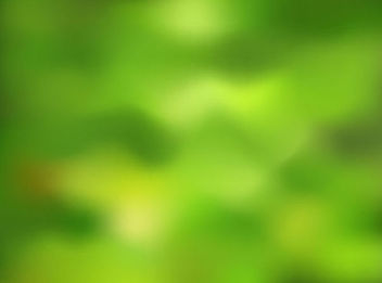 Blurry Green Nature Background - бесплатный vector #167029