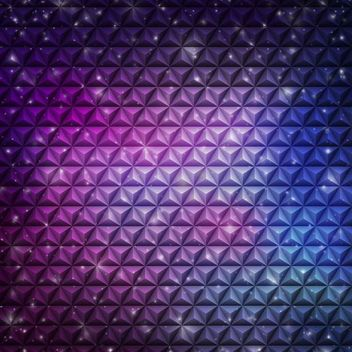 Abstract Embossed Cubic Pattern Violet Background - бесплатный vector #167349