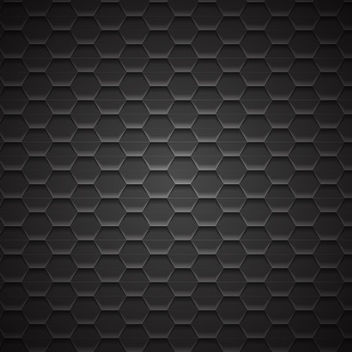 Dark Geometric Metal Pattern Background - vector gratuit #167609