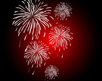 Clean & Smooth Firework Pack - Free vector #167829
