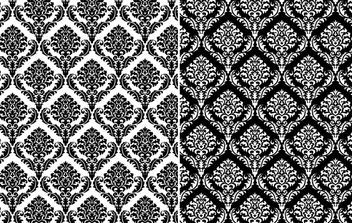 Seamless Damask Ornamental Pattern - vector gratuit #168049