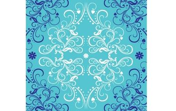 Curly Swirl Decorative Ornament - Free vector #168229
