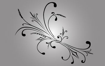 Foliage Shape Vector - бесплатный vector #168349