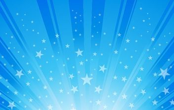 Exploding Star Burst Background - vector #168439 gratis