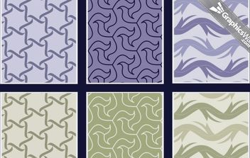 Free Seamless Vector Patterns - бесплатный vector #168529
