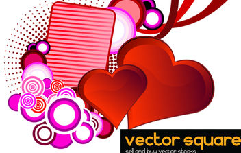 Love Background - vector gratuit #168569