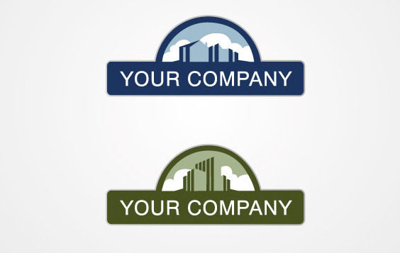Real Estate Logo - Free vector #168599