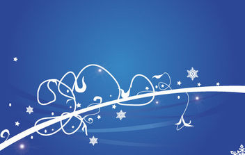 Christmas Background - vector gratuit #168619