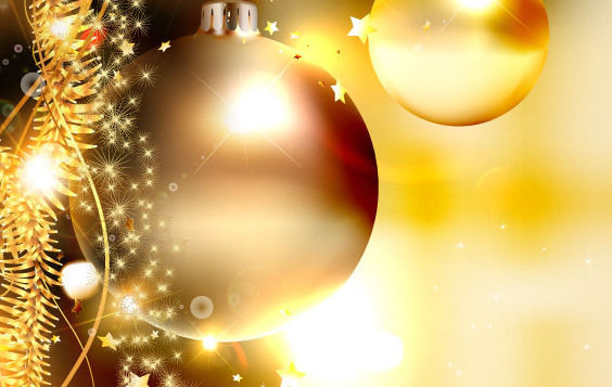 Christmas Background 4 - Free vector #168649