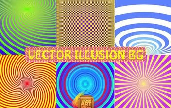 Vector Illusion Background - Kostenloses vector #168779