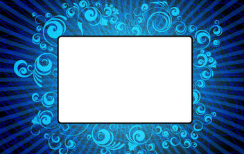 Abstract Ornamented Banner - Free vector #168809