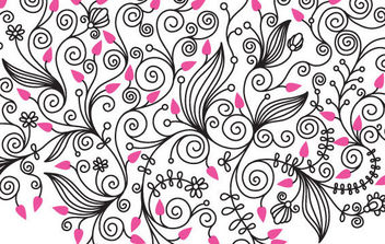 Nature Swirls Vector - Free vector #168839