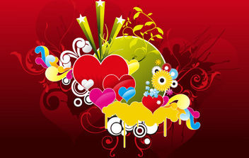Heart vector Graphic - Free vector #168869