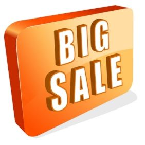 Big Sale Icon - vector #168899 gratis