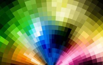 Abstract Colorful Artwork Background - Free vector #168979
