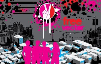 Urban Art - vector gratuit #169209