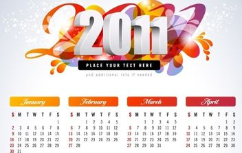 EXCLUSIVE NEW CALENDARS - Kostenloses vector #169449