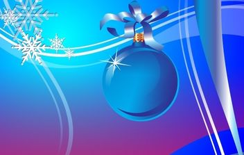 Abstract Holiday Vector - Free vector #169499