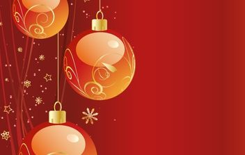 FREE VECTOR CHRISTMAS BACKGROUND - бесплатный vector #169599
