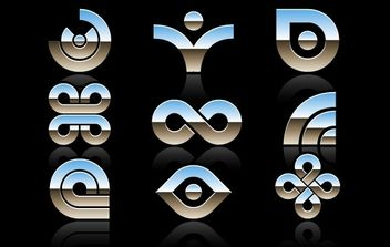 Abstract Symbols - Free vector #169779